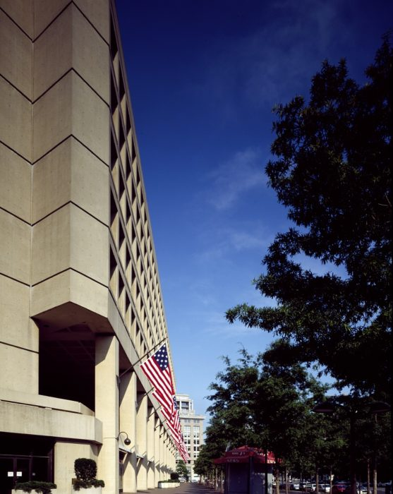 FBI headquarters. (Library of Congress)