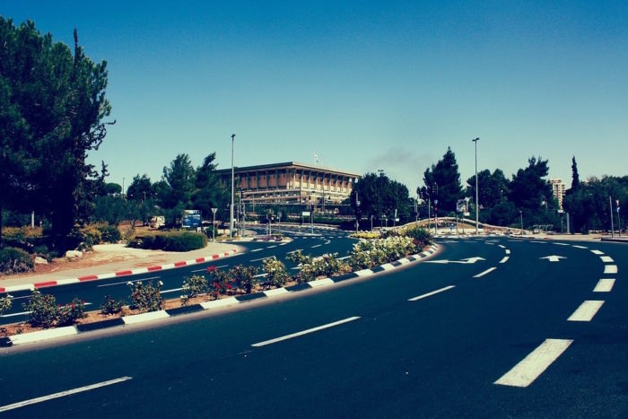 The Knesset.
