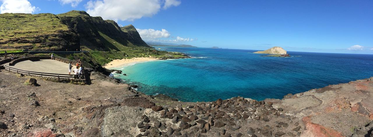 Oahu beach.