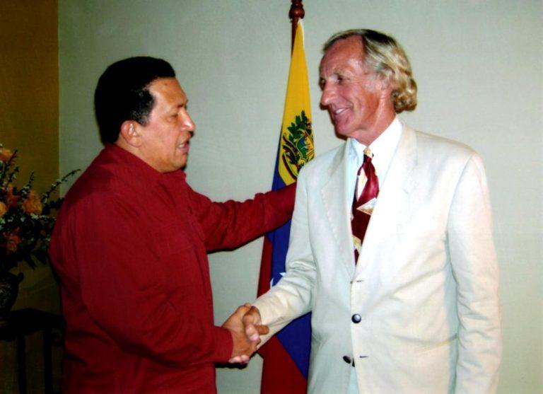 Chavez and Pilger, 2007. (johnpilger.com)