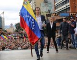 Juan Guido sworn in as Venezuela's interim president before a crowd on Jan. 23. (National Assembly)