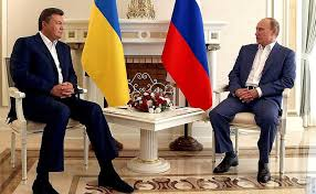 Yanukovych with Russian President Vladimir Putin, 2012, Moscow. (President of Russia)