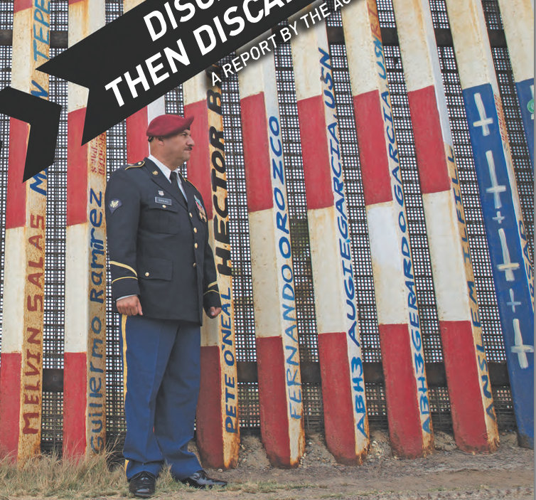 A Warning to Non-Citizen Soldiers & Vets – Consortiumnews