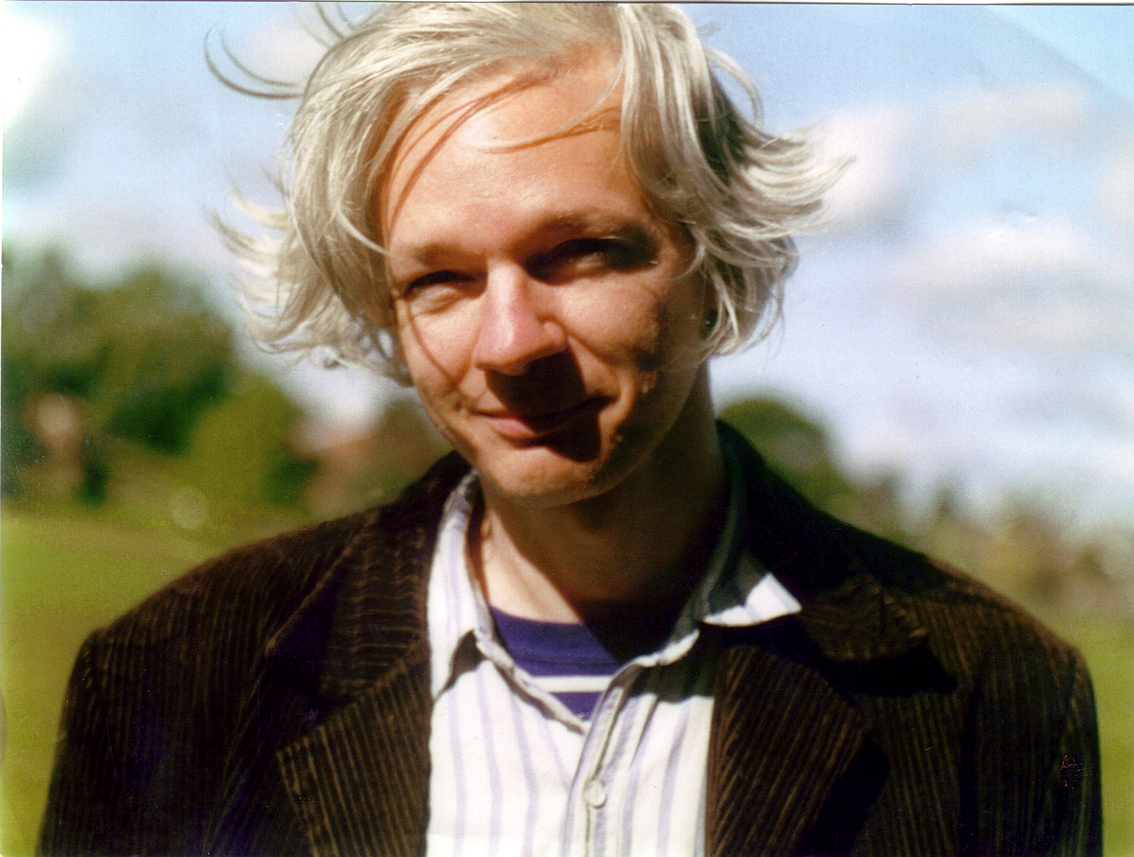 Julian Assange, in or before 2006. (Martina Haris via Wikimedia Commons)