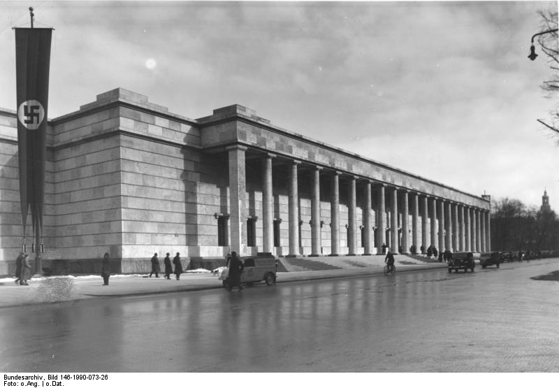House of German Art in Munich. (Bundesarchiv, CC-BY-SA 3.0, Wikimedia Commons)