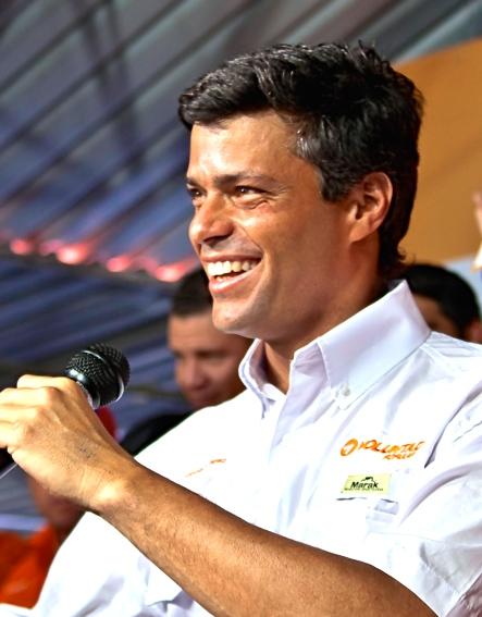 Leopoldo López: Guaidó's Venezuelan mentor. (Zfigueroa via Wikimedia Commons)