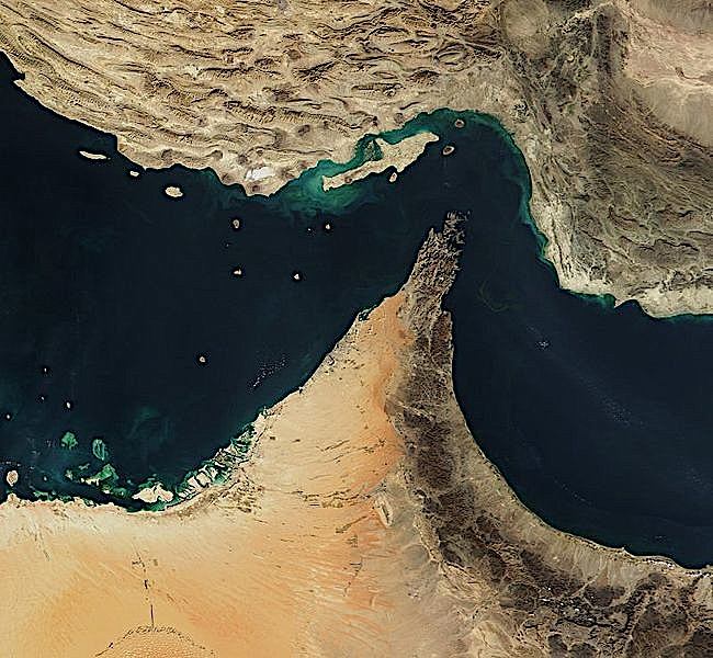 Chokepoint: The Strait of Hormuz. (Flickr)