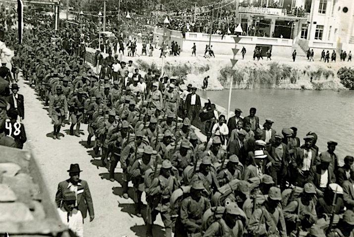 Turkish forces under entered Alexandretta on July 5, 1938.