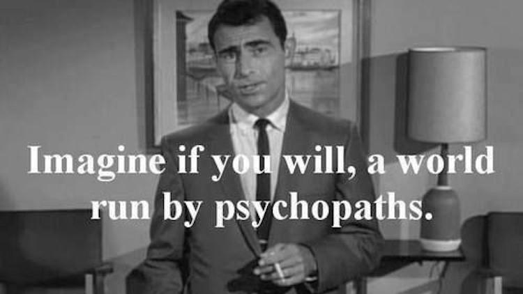 On Psychopathy & Power