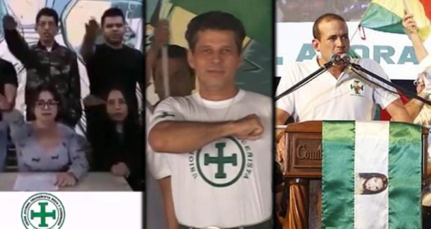Bolivia fascism Nazi politics violence paramilitary police coup Evangelicals Indigenous neopaganism