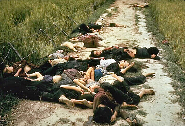 Photo by U.S. Army photographer Ronald L. Haeberle on March 16, 1968 after the My Lai massacre.