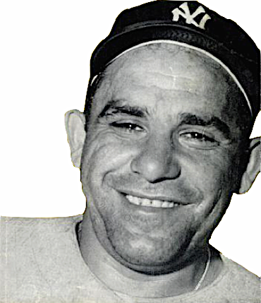 Yogi Berra in 1956. (Wikipedia)