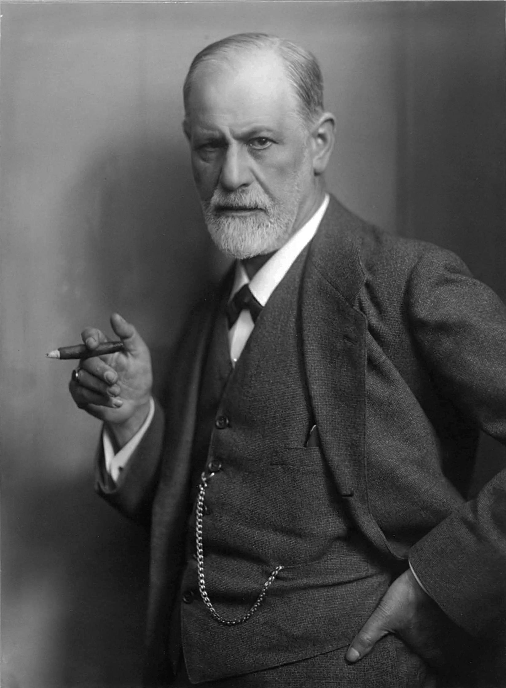 Portrait of Sigmund Freud, circa 1921. (Max Halberstadt, Wikimedia Commons)
