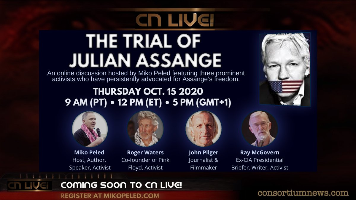`The Trial of Julian Assange` With Roger...